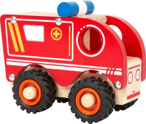 Small Foot Dřevěné auto Ambulance