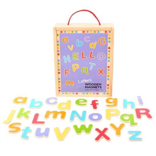 Bigjigs Toys Magnetická abeceda