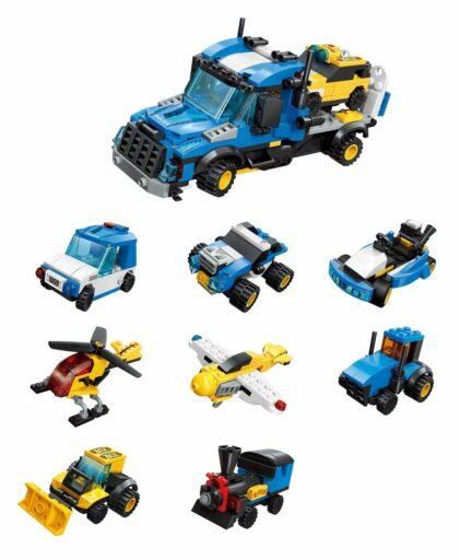 Qman City Tow truck 1809 komplet 8v1
