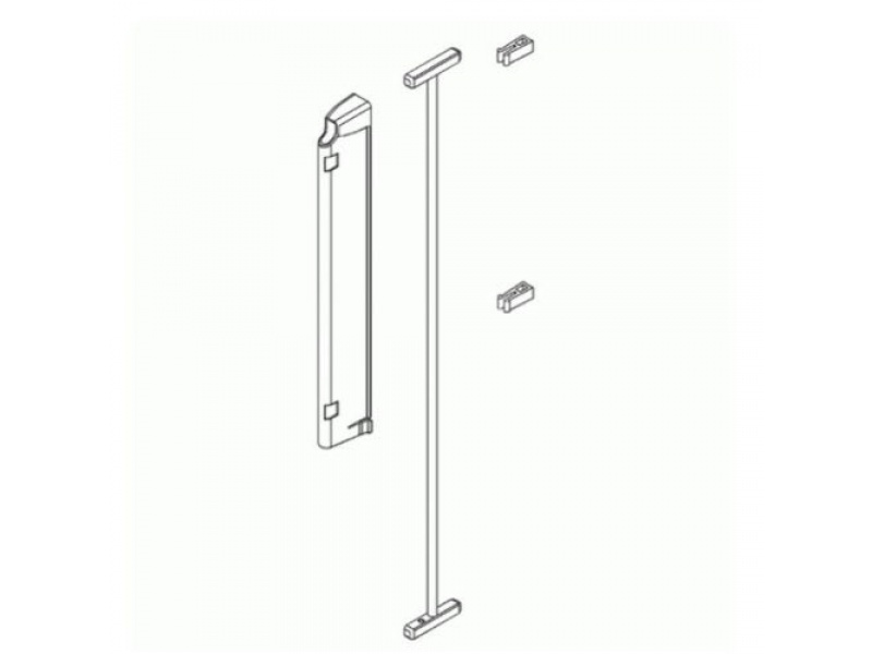 Lindam - Wall Fixing Kit (bílá)