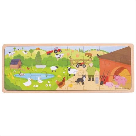 Bigjigs Toys puzzle - Na farmě