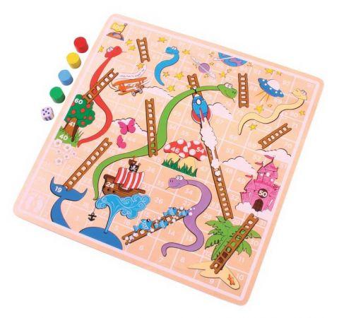 Bigjigs Toys Žebříky a hadi