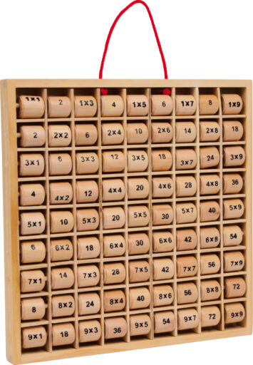 Small Foot Násobící tabulka Rio