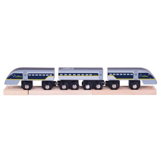 Bigjigs Rail Rychlík Eurostar E320 + 3 koleje