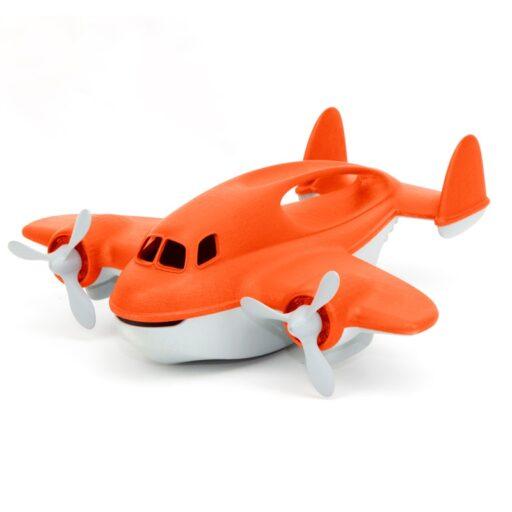 Green Toys Požární letadlo oranžové
