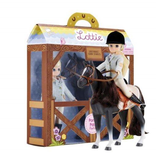 Lottie Panenka žokejka s koněm