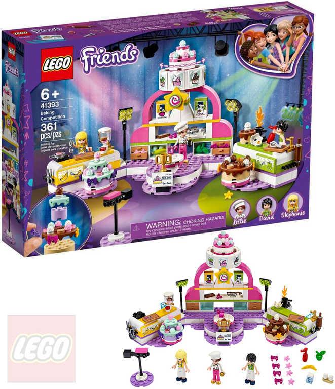 LEGO FRIENDS Soutěž v pečení 41393 STAVEBNICE