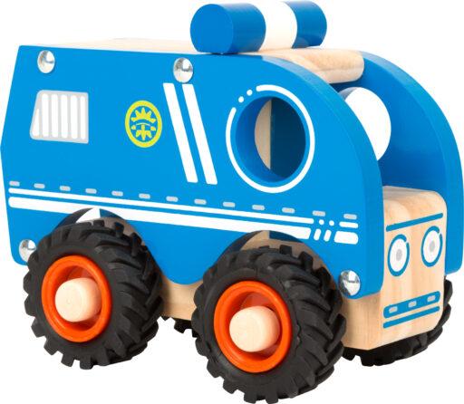 Small Foot Dřevěné policejní auto