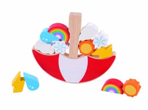 Bigjigs Toys Balanční hra Počasí
