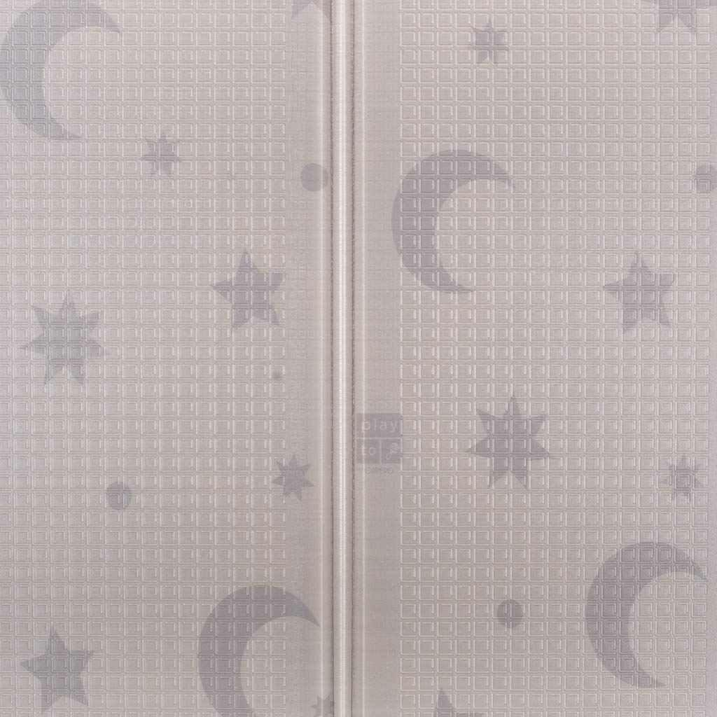 Multifunkční skládací hrací podložka PlayTo Noční obloha - hnědá