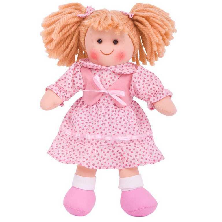 Bigjigs Toys Látková panenka Sophie 28 cm