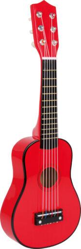 Small Foot Dětská kytara červená
