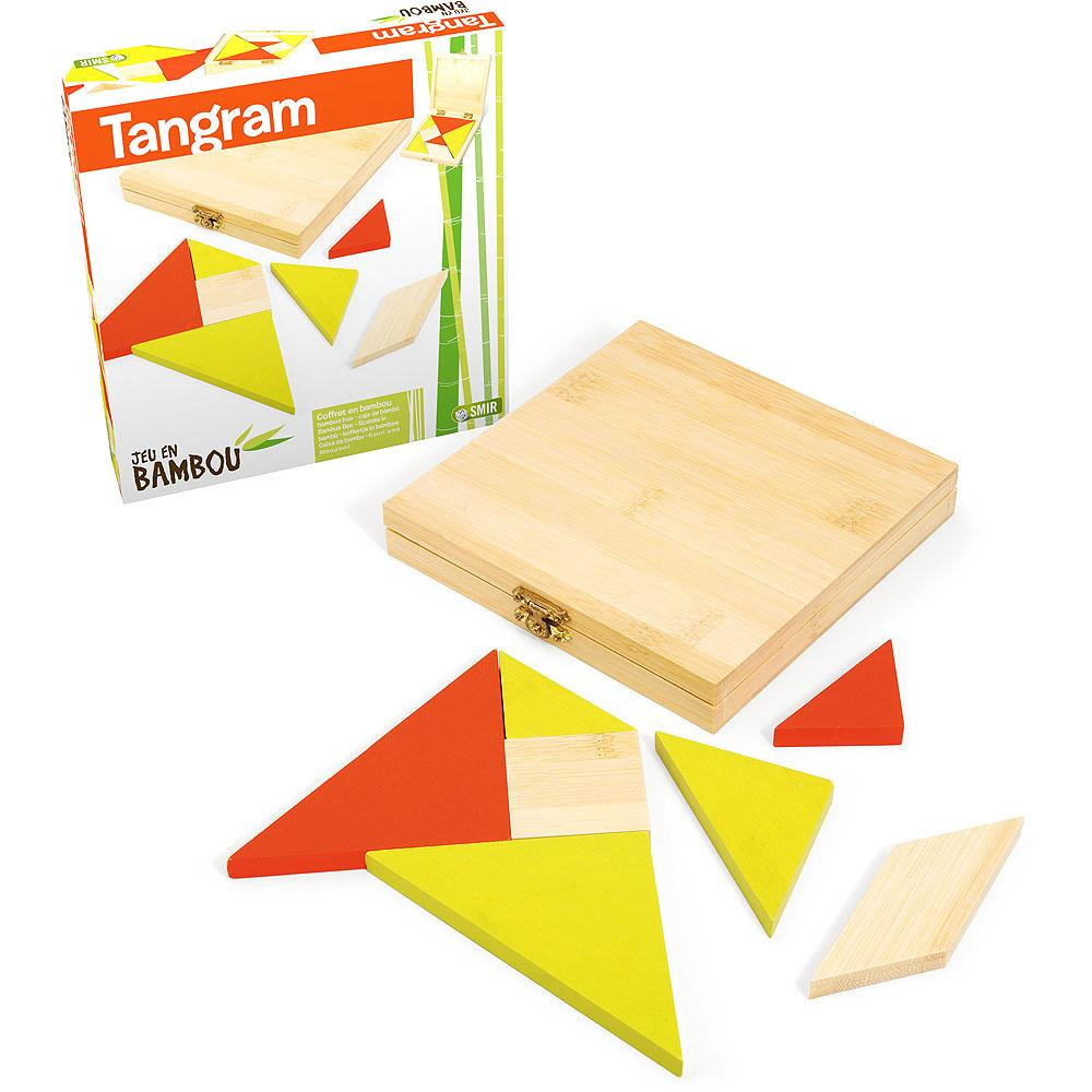 Jeujura Bambusový tangram