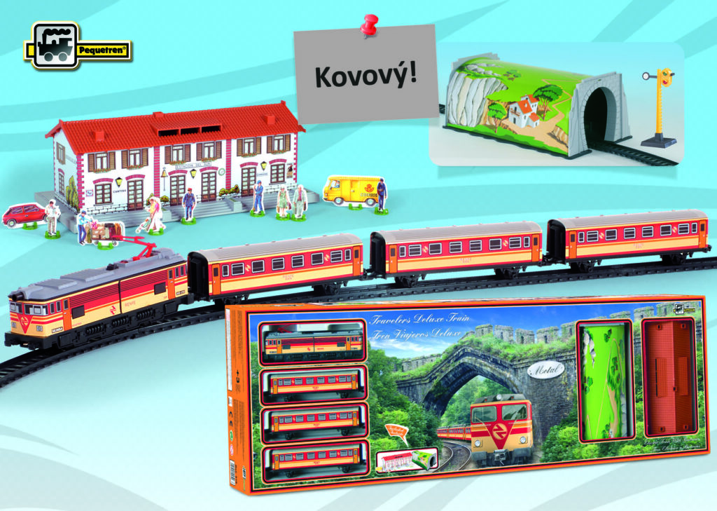 TRAVELERS DELUXE TRAIN - osobní vlak