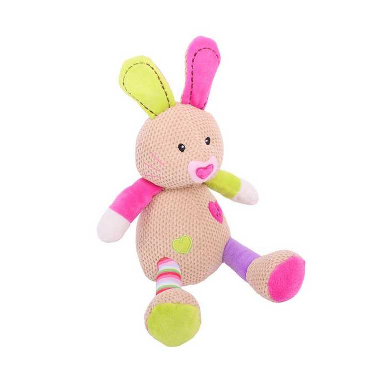 Bigjigs Baby Textilní postavička - Králíček Bella