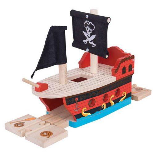 Bigjigs Rail Pirátská galéra