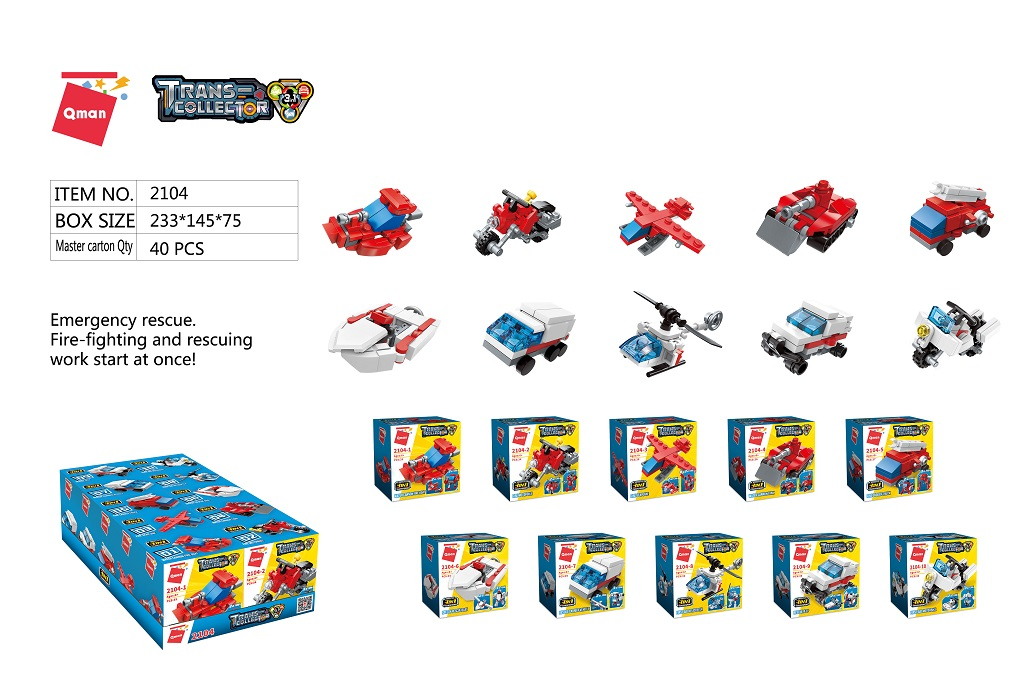 Qman Trans Collector 3in1 2104 sada 10 kusů