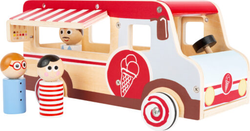 Small Foot Dřevěný zmrzlinový vůz XL