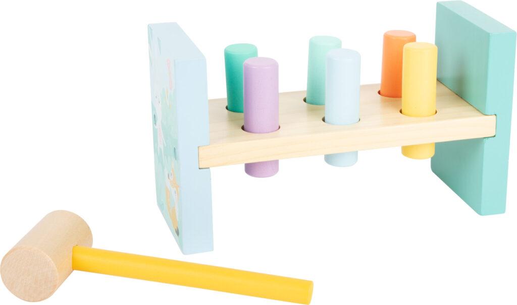 Small Foot Zatloukačka v pastelových barvách