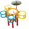 Small Foot Dětské dřevěné barevné bubny