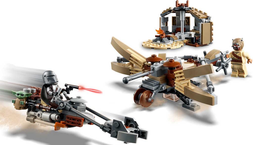 LEGO STAR WARS Potíže na planetě Tatooine 75299 STAVEBNICE