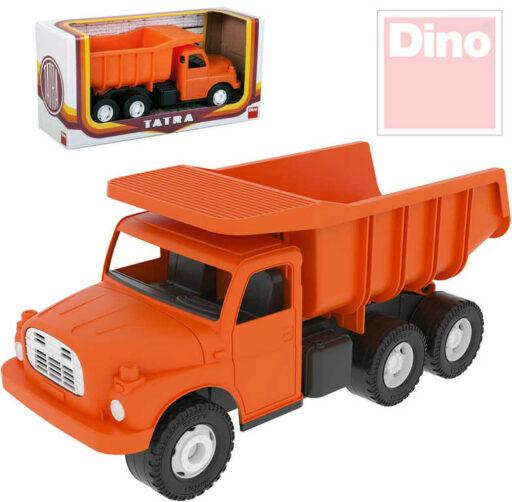 DINO Tatra T148 klasické nákladní auto na písek 30cm oranžová sklápěcí korba