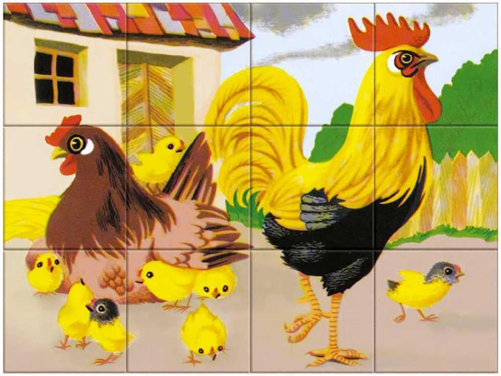 DINO DŘEVO Kubus set 12ks Domácí zvířátka obrázkové kostky
