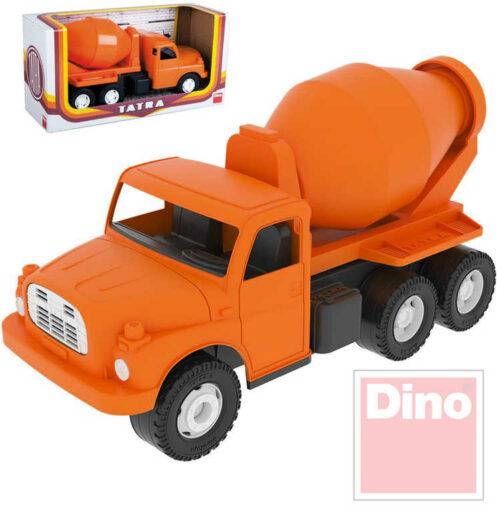 DINO Tatra T148 klasické nákladní auto na písek 30cm oranžová domíchávač betonu