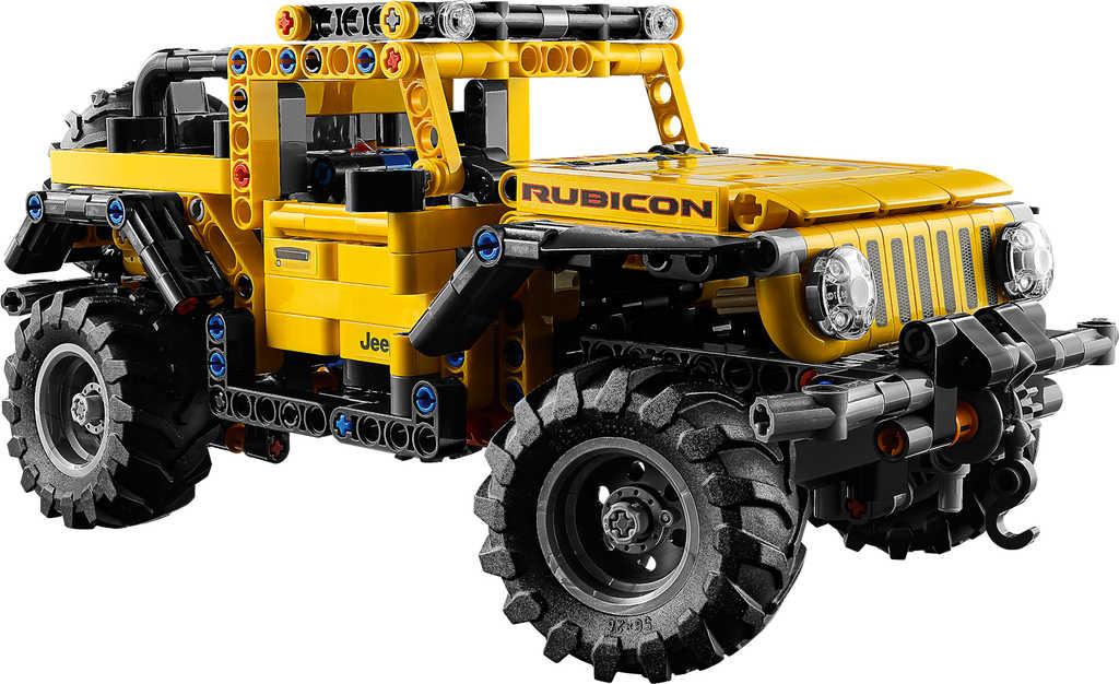 LEGO TECHNIC Auto jeep Wrangler 42122 STAVEBNICE