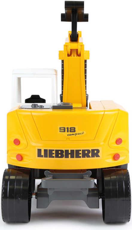 LENA Bagr funkční 48cm Worxx 1:15 Liebherr A918 Litronic plast v krabici