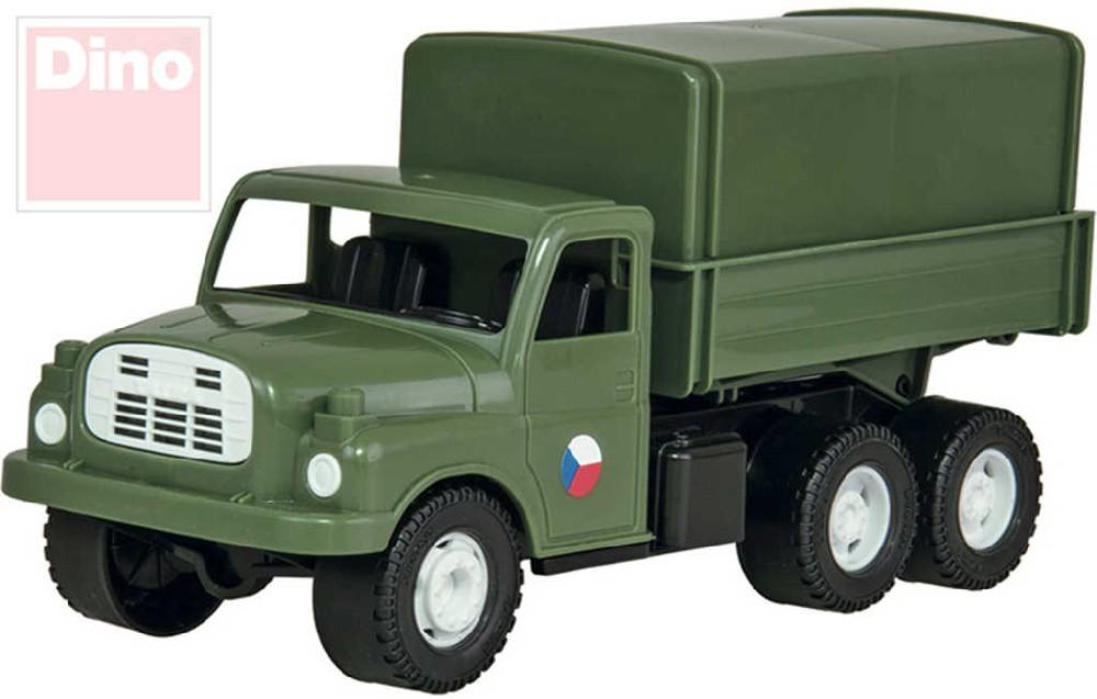 DINO Tatra T148 army nákladní auto na písek 30cm vojenské valník plachta