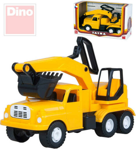 DINO Tatra auto nákladní žluté T148 Bagr 30cm na písek plast