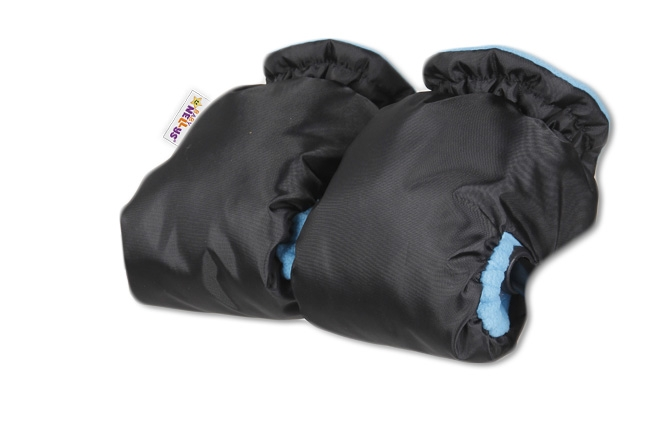 Sáňky s kompletním vybavením + rukávník zdarma - černý