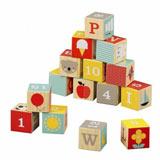 Dřevěné kostky a kubusy