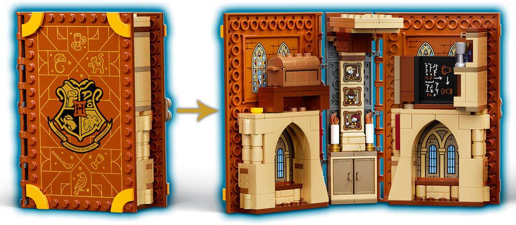 LEGO HARRY POTTER Hodina přeměň 76382 STAVEBNICE