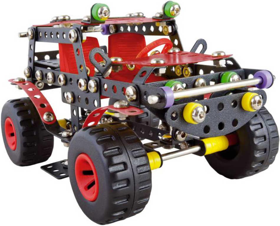 ALEXANDER Malý konstruktér: Ranger konstrukční STAVEBNICE 354 dílků kov