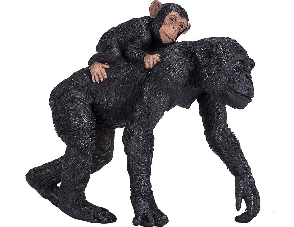 Mojo Animal Planet Šimpanz a mládě