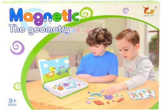 Puzzle magnetické Zvířátka skládačka v krabici