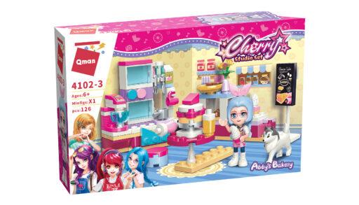 Qman Cherry 4102-3 Pekárna Aby