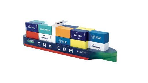 Vilac Magnetická kontejnerová loď Jacques Saadé