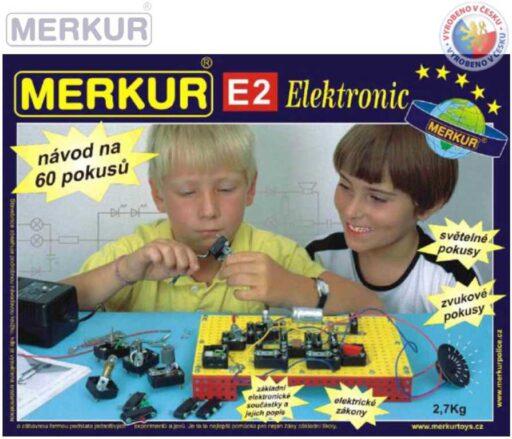 MERKUR E2 Elektronic * KOVOVÁ STAVEBNICE *