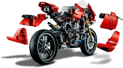 LEGO TECHNIC Motocykl Ducati Panigale V4 R 42107 STAVEBNICE