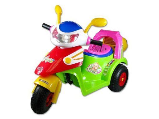 Motorka (skutr) na baterie elektrické vozítko pro děti světlo