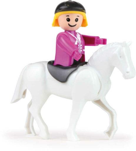 LENA Baby Truckies Farma set 2 pracovní vozidla s figurkami a doplňky