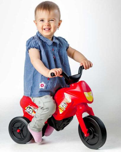 MAD Odrážedlo dětské odstrkovadlo Enduro YUPEE červené malé