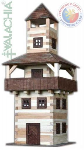 WALACHIA Věž 33W28 dřevěná stavebnice