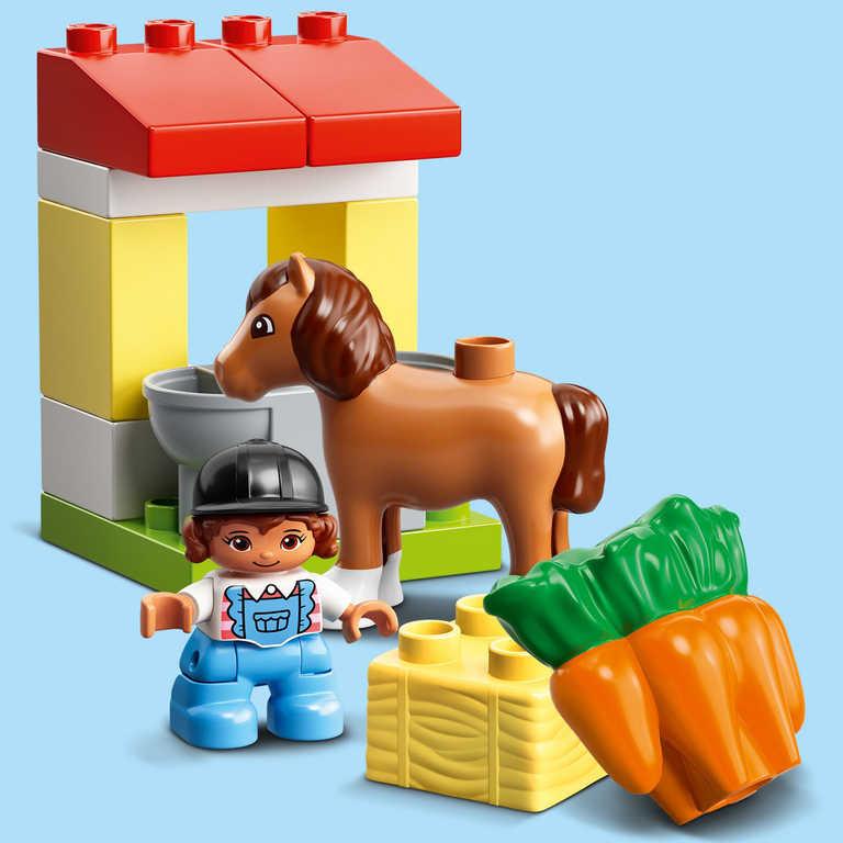 LEGO DUPLO Stáj s poníky 10951 STAVEBNICE
