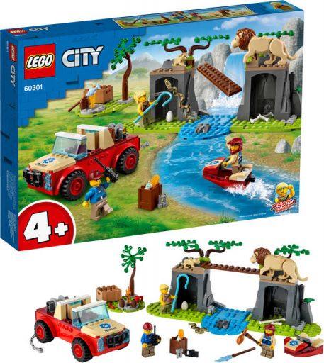 LEGO CITY Záchranářský teréňák do divočiny 60301 STAVEBNICE