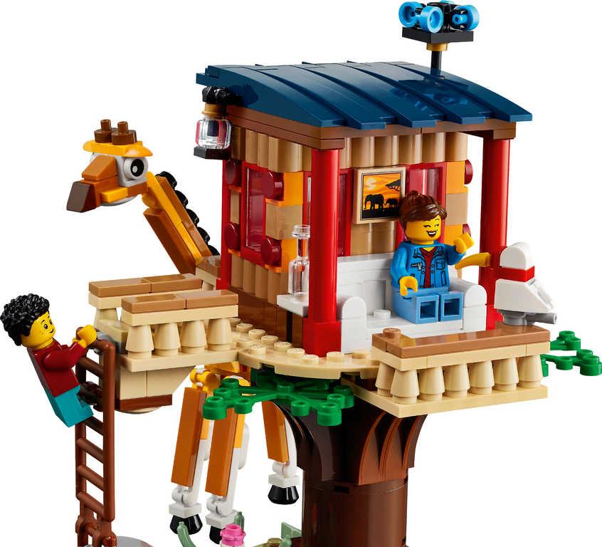 LEGO CREATOR Safari domek na stromě 3v1 31116 STAVEBNICE