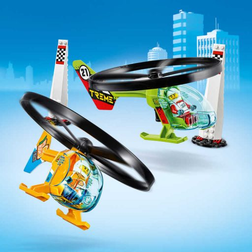 LEGO CITY Závod ve vzduchu 60260 STAVEBNICE